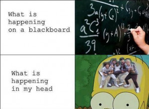 1d, blackboard, directioner, fangirl, fangirling, funny, harry styles ...