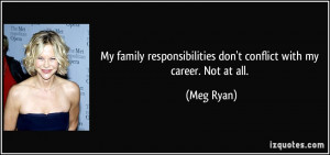Family Responsibilities Quotes