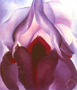 Flower of Life II painting - Georgia O'keeffe Flower of Life II Art ...