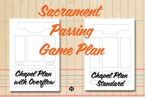 Sacrament Passing Game Plan Printable