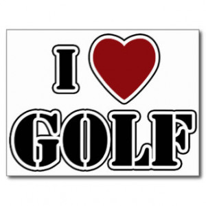 Golf Sayings Cards & More