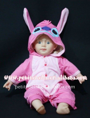 ... Baby Infant Pink STITCH Party Costume,party costume,costume MAC76