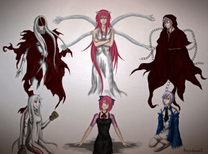 Multiple Personality Anime by NinjaDragon3
