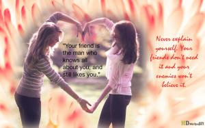 Girls friendship quotes