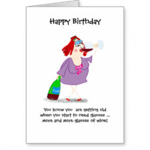 Funny Birthday You Know Your Getting Old Cards & More