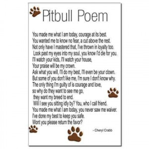 Pit Bull Poem