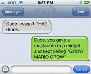 22 Unfortunate People Who Learnt How Drunk They Were Via Text
