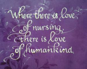 Nurse Thank you, Nurse Appreciation, Hospice, From Hippocrates Quote 5 ...