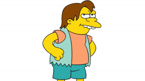 Nelson Muntz always shows up at the right time to make any situation ...