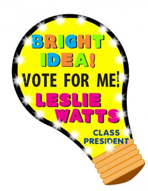 Make a Vote for Me Poster | School Election Poster Ideas