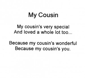 Love My Cousin Quotes