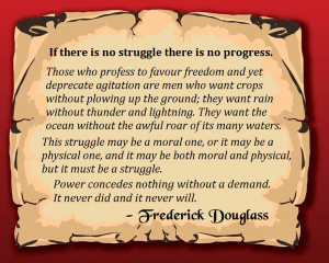Frederick Douglass Quotes Struggle
