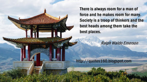 ... With Quotes: The Picture Of China Old Buildings And Leadership Quote