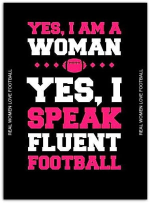 Women Who Love Football