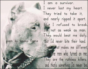 Poem for Pitbulls...Pitti, Dogs Quotes, Heart, Poems, Pit Bull Dogs ...