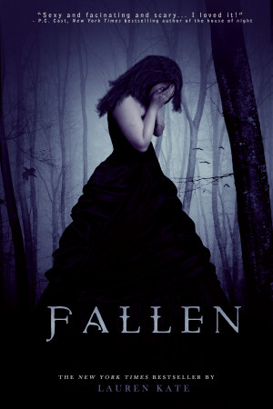 Fallen Book Cover Challenge...