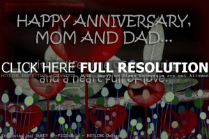 Quotes For Parents Pinterest ~ anniversary, quotes, sayings, parents ...
