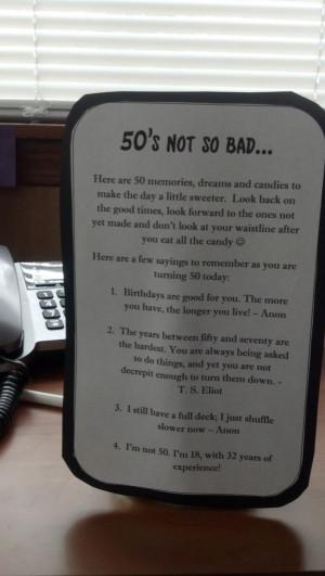 ... 50Th Bday, Funny 50Th Birthday Quotes, Milestones Birthday, Birthday