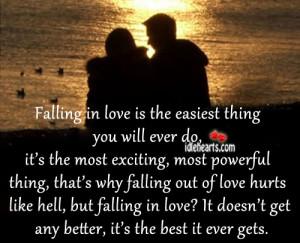 Best, Better, Falling, Falling In Love, Hell, Hurt, Like, Love, Love ...
