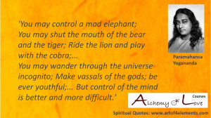 Paramahansa Yogananda Spiritual Quote about meditation