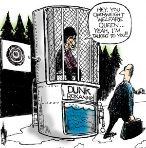 reminded me of dunk tanks used at fairs, events and so forth Jeremy Lin Dunk In Middle School