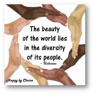 ... Diversity: a mix of different cultures, races, education, etc. in a