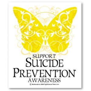 ... suicide prevention day which is part of the suicide prevention week