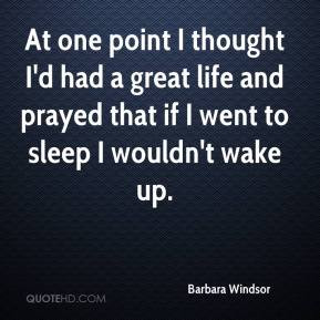Barbara Windsor Quotes