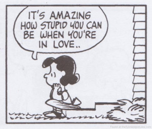 Snoopy Quotes On Love Being in love