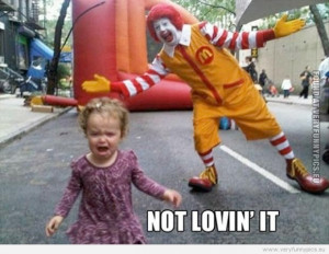 Funny Pictures Quotes People Clever The Joker Promotes Mcdonalds