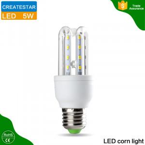 AC85~265V led energy saving lamp 2U 3U 4U 3W 5W 7W 9W 12W 16W 24W