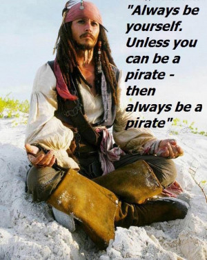 Captain Jack Sparrow , quotes , success