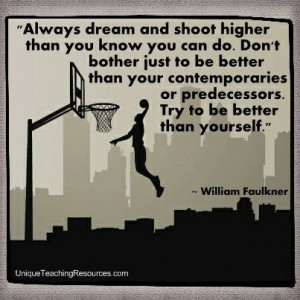 Famous Motivational Quotes By William Faulkner - Always dream and ...