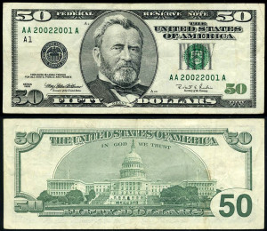 Rare Us Paper Money Currency