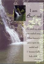 Adult Baptism Certificates