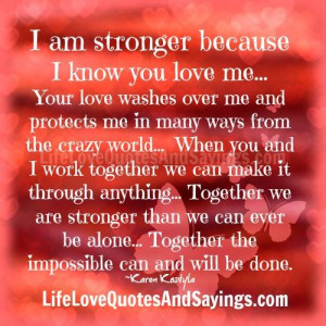We Are Strong Together Quotes. QuotesGram