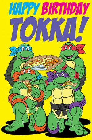 happy birthday andrew ninja turtles