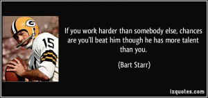 More Bart Starr Quotes