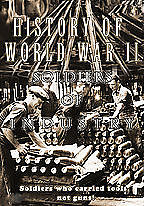 History of World War II Soldiers of Industry 2 DVD