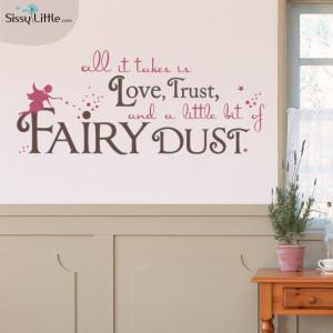 Fairy Dust Quote-$47.99