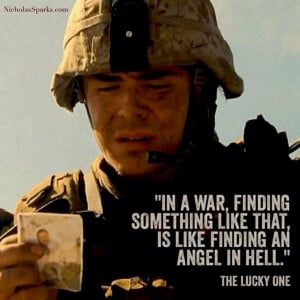 The Lucky One.