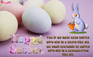 Happy Easter Sunday Wishes Quote Wallpaper