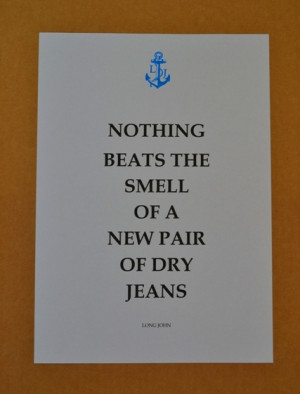 quote of the day long john blog jeans denim raw blue rigid usa japan