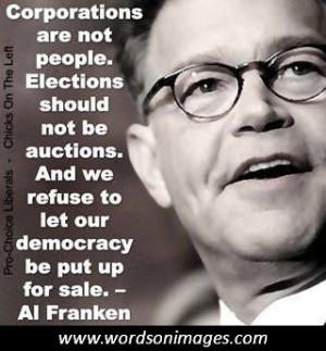 Al franken quotes...