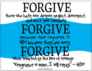 Bible Quotes About Love And Forgiveness
