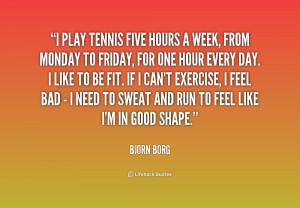 Bjorn Borg Quotes