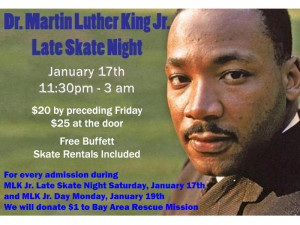 Dr. Martin Luther King Week at The Golden Skate!