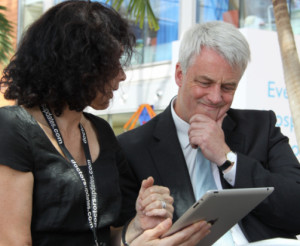 Andrew Lansley says technology can revolutionise the health service