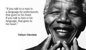 Home Digital Marketing Articles Effective Communication Nelson Mandela