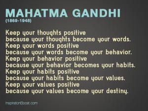 Mahatma Gandhi Life Quotes